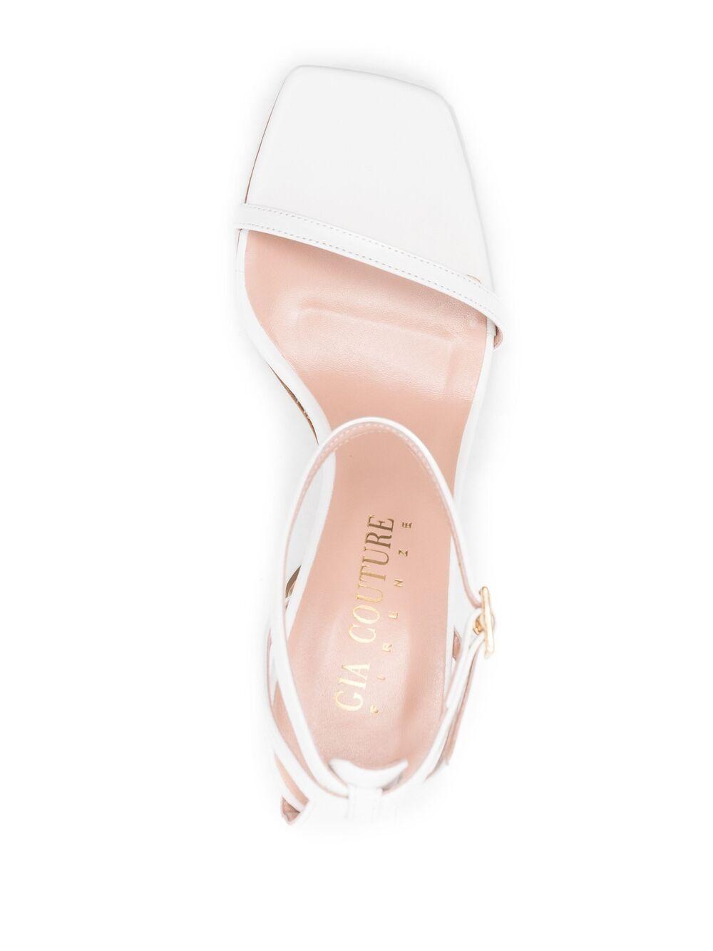 Gia Couture sandali baci donna white GIA COUTURE | Sandali | BACIO07A2