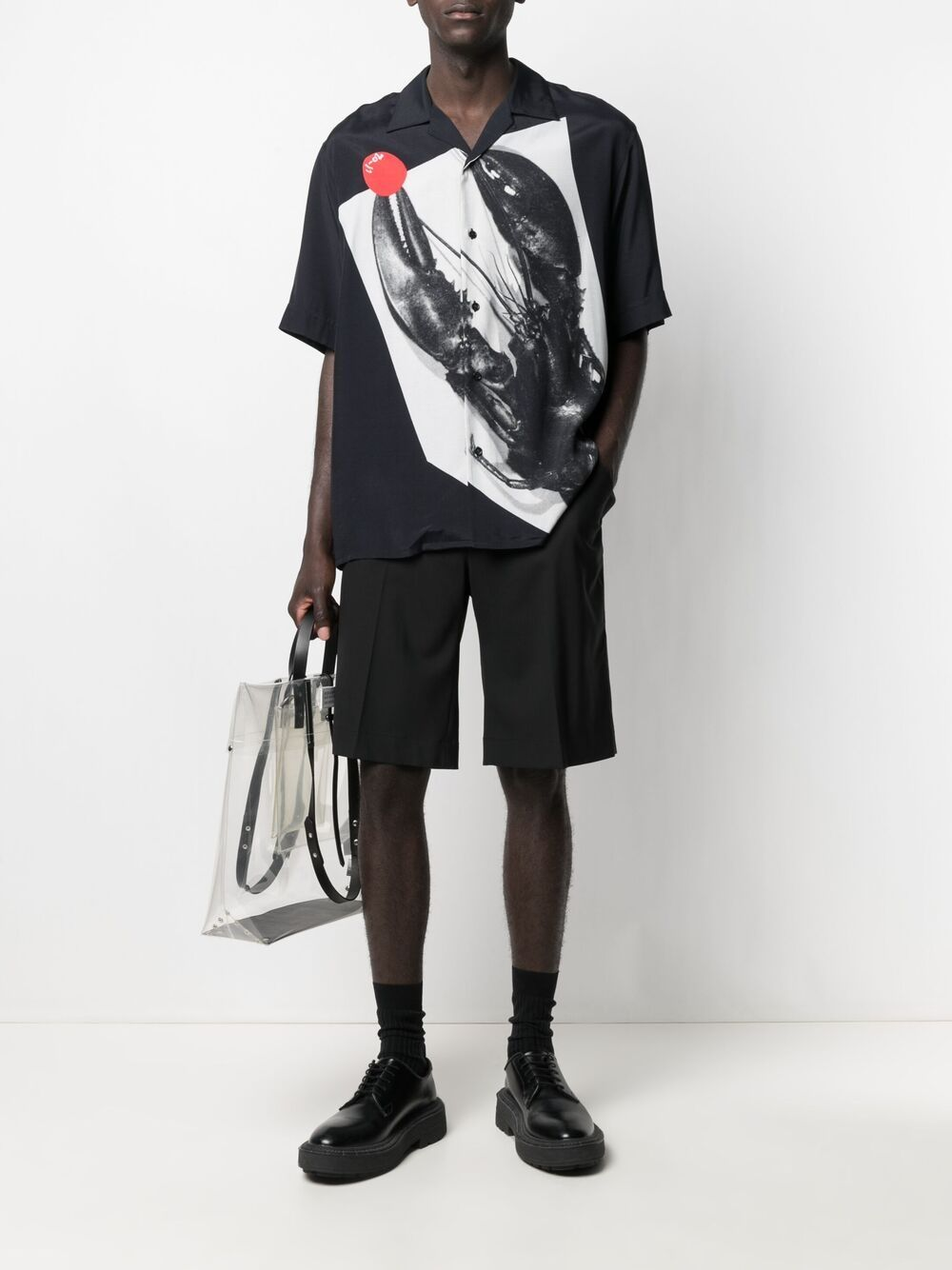 OAMC camicia black uomo OAMC | Camicie | OAMS602964OS381130001