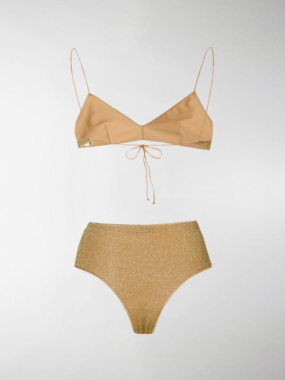 Oséree bikini due pezzi lumière donna gold OSÉREE   Costumi   LMS803GLD