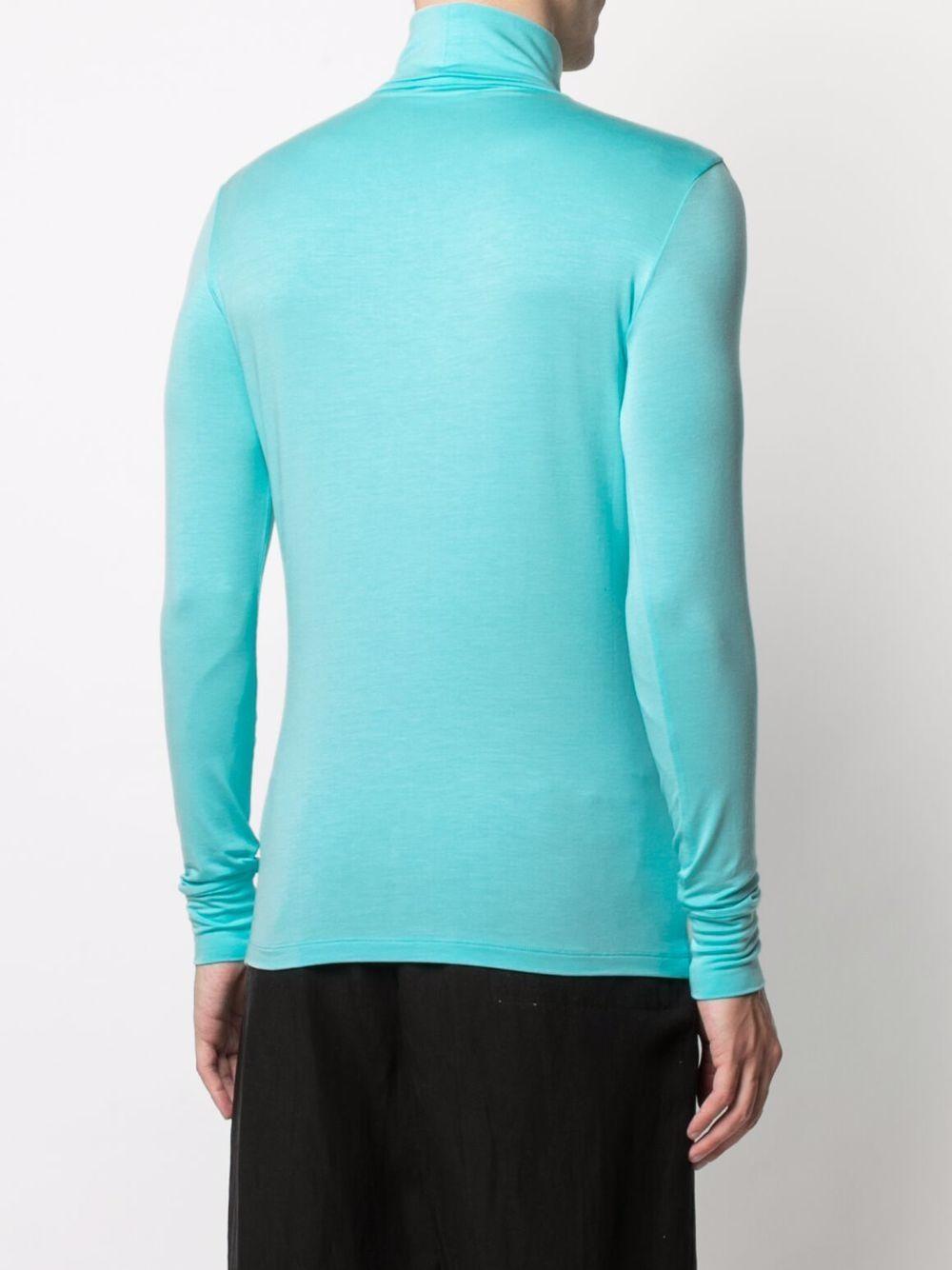 Raf simons maglione con stampa uomo blue RAF SIMONS | Maglie | 211M149190160040