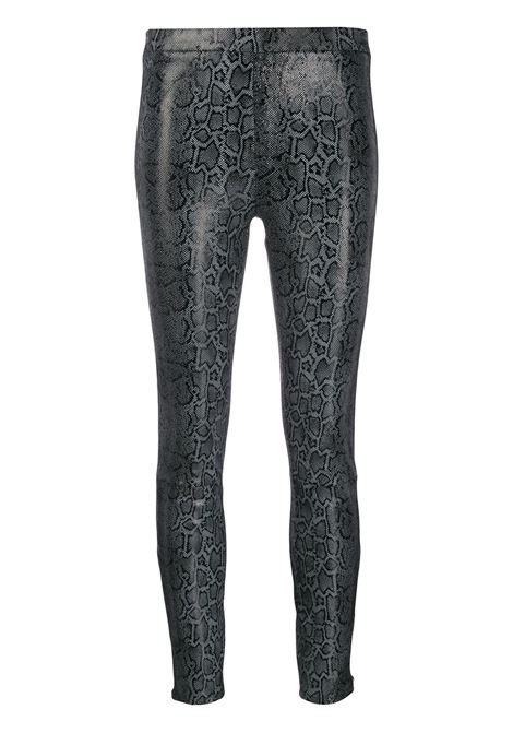 Darcy snake-effect pull-on trousers J BRAND | Trousers | JB002454J05008