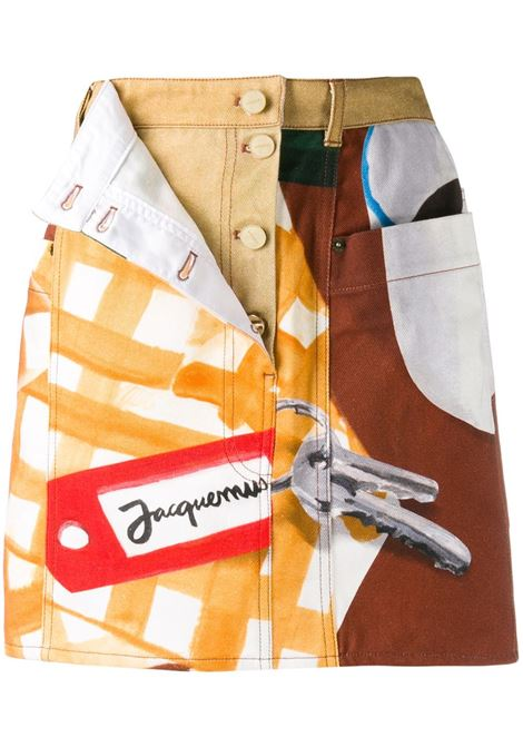 JACQUEMUS Skirt JACQUEMUS | Skirts | 194DE0419453073PRNT