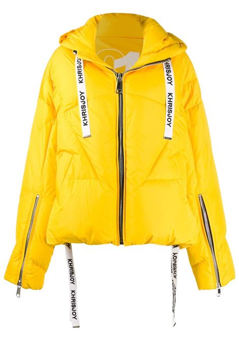 Logo drawstring puffer jacket KHRISJOY | Outerwear | AFPW001NYDKY14