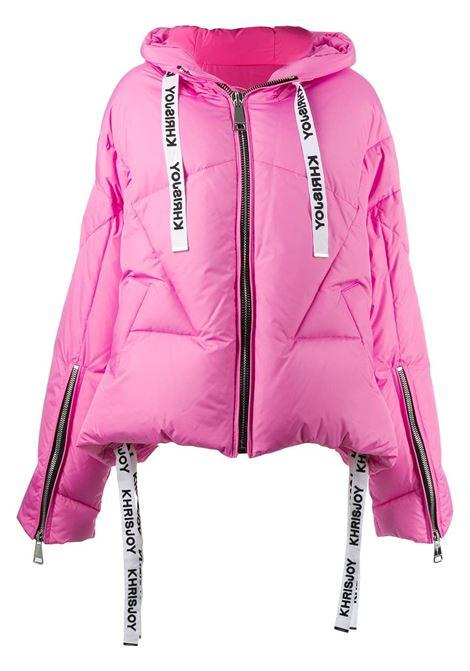 Logo drawstring puffer jacket KHRISJOY | Outerwear | AFPW001NYFX21