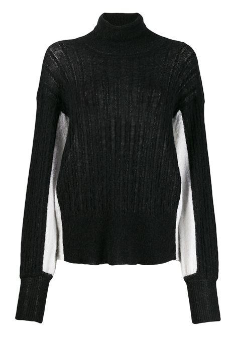 MAISON FLANEUR Sweater MAISON FLANEUR | Sweaters | 19WMDSW410FA008BLK WHT