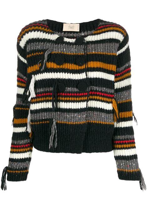 MAISON FLANEUR Cardigan MAISON FLANEUR | Sweaters | 19WMDSW500FY049BLK