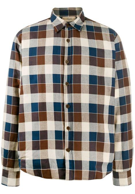 MAISON FLANEUR Shirt MAISON FLANEUR | Shirts | 19WMUJB100TC272BRWN