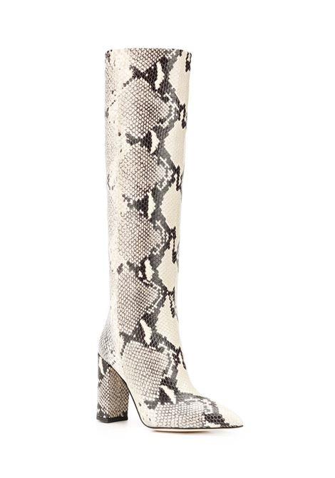 Snake effect boots PARIS TEXAS | PX120PNTRL