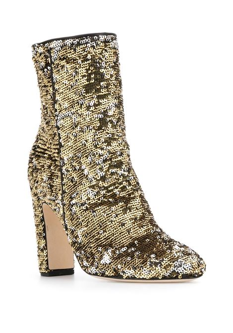 Sequin-embellished ankle boots PARIS TEXAS | PX185PTGLD