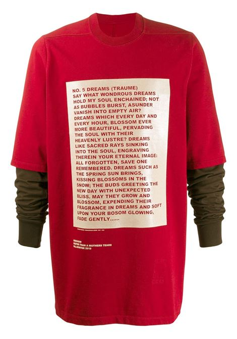 RICK OWENS DRKSHDW Sweatshirt RICK OWENS DRKSHDW   Sweatshirts   DU19F6269RIGCP4038321