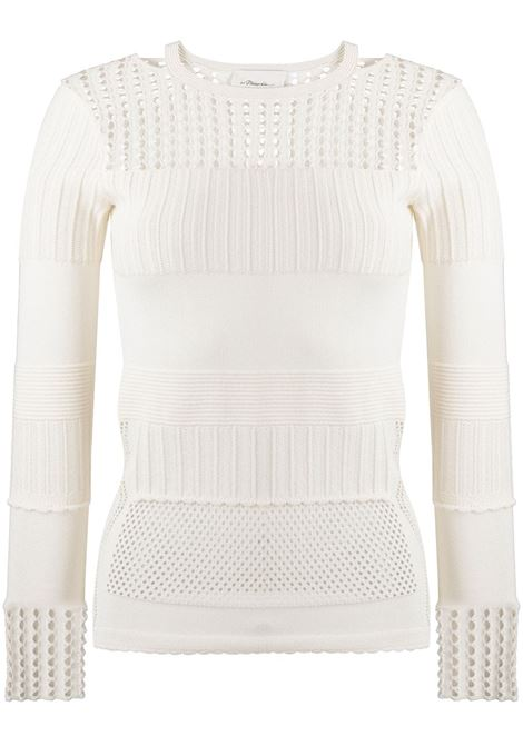Crochet-panel jumper 3.1 PHILLIP LIM | Sweaters | P2027615LSNWH100