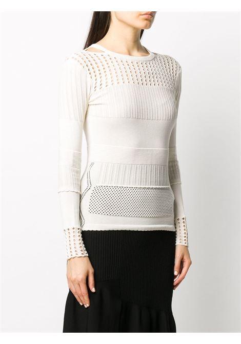 Crochet-panel jumper 3.1 PHILLIP LIM | P2027615LSNWH100