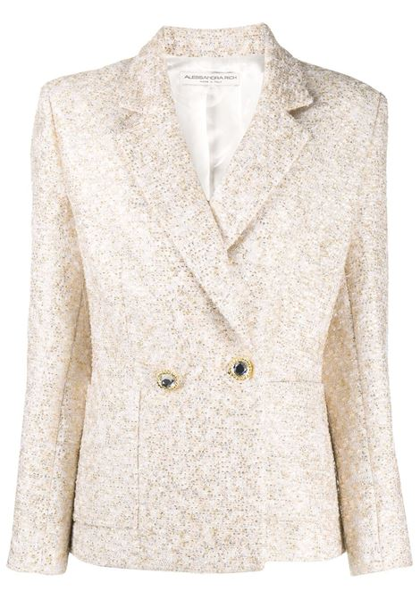 Embroidered fitted blazer ALESSANDRA RICH | Blazers | FAB2233F2951032