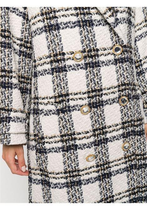 Cappotto doppiopetto a quadri Donna ALESSANDRA RICH | FAB2286F2957822