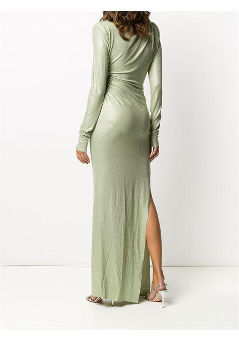 Ruched long-sleeved maxi dress ALEXANDRE VAUTHIER | 203DR1340B1029B203LNDN