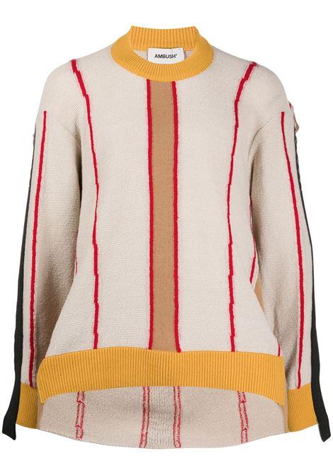 Crew neck sweatshirt AMBUSH | Sweaters | BMHE004F20KNI0016184