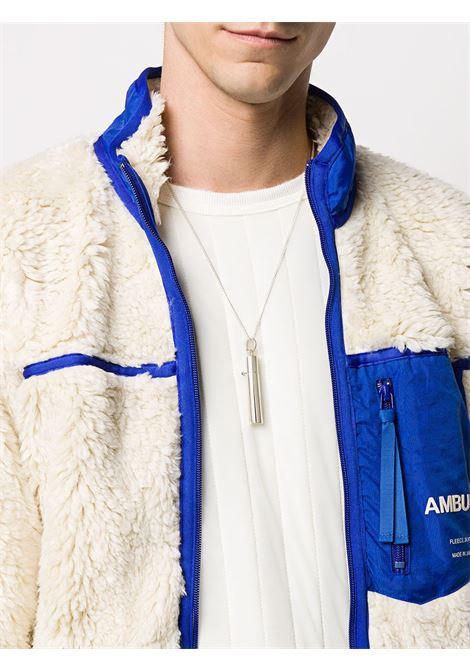 Collana con ciondolo Uomo AMBUSH | BMOB021F20MET0027200