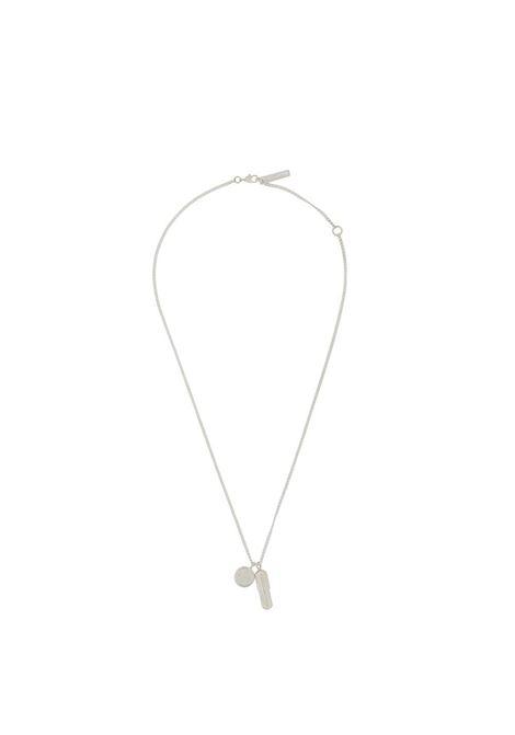 Pill charm necklace AMBUSH | Necklaces | BMOB024F20MET0017200
