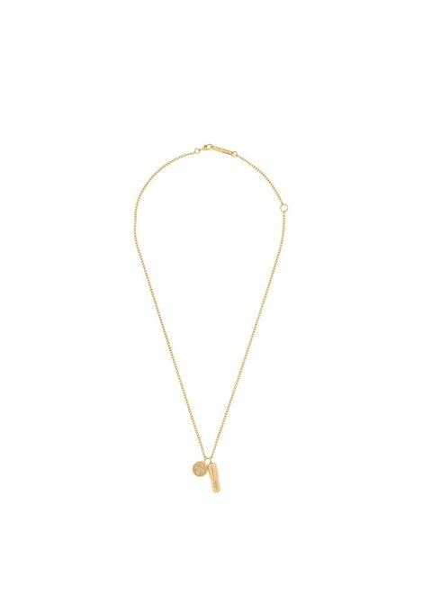 Pill charm necklace AMBUSH | Necklaces | BMOB024F20MET0017600