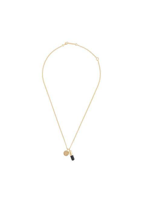 Pill charm necklace AMBUSH | Necklaces | BMOB024F20MET0017610