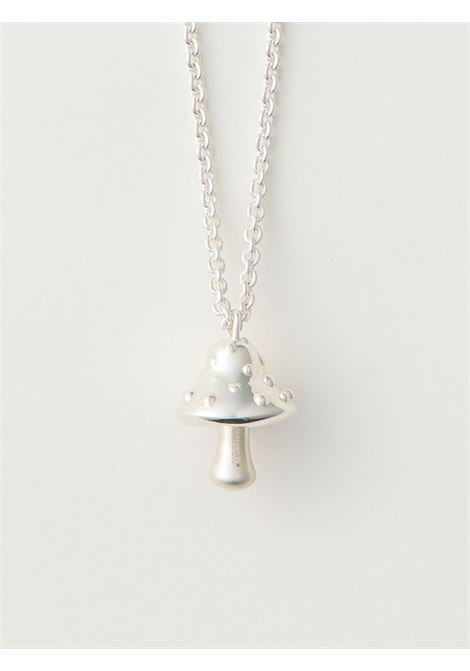 Mushroom-charm chain necklace AMBUSH | BMOB025F20MET0017200