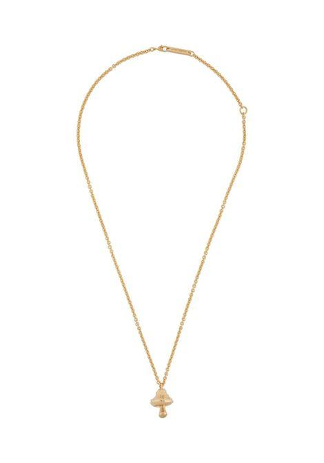 Mushroom-charm chain necklace AMBUSH | Necklaces | BMOB025F20MET0017600