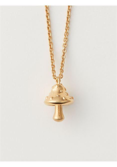 Mushroom-charm chain necklace AMBUSH | BMOB025F20MET0017600