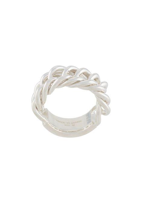 Chain-link Ring AMBUSH | Rings | BMOC001F20MET0017200