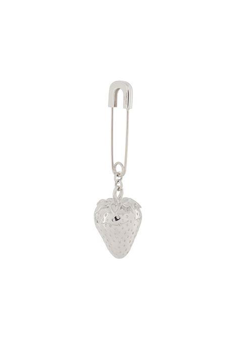 Strawberry-charm earring AMBUSH | Earrings | BMOD012F20MET0017200