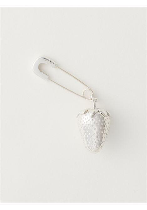 Strawberry-charm earring AMBUSH | BMOD012F20MET0017200