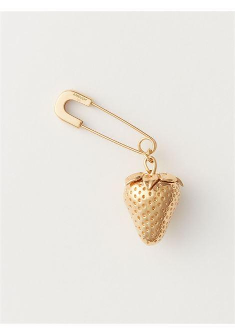 Strawberry-charm earring AMBUSH | BMOD012F20MET0017600