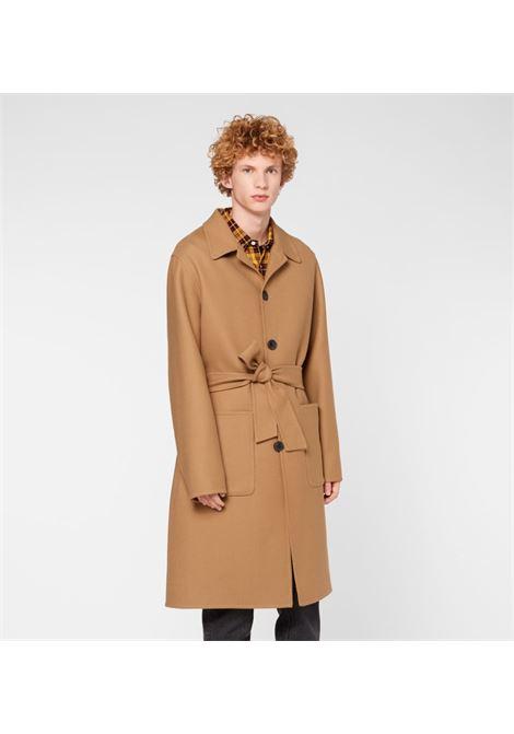 Cappotto con cintura Uomo AMI PARIS   A20HM008241250