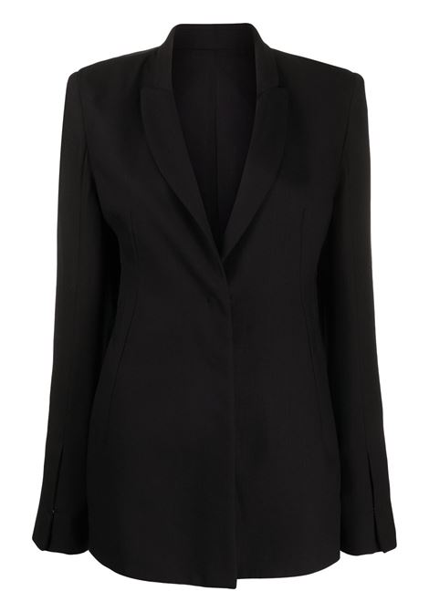 Single breasted blazer ANN DEMEULEMEESTER | Blazers | 20021034170099