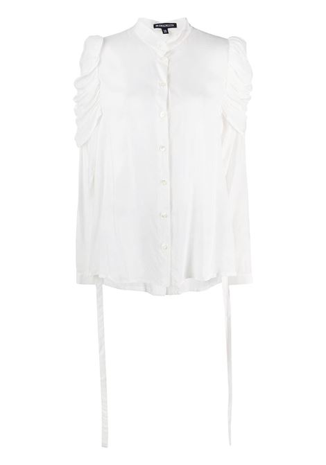 Ruched sleeve shirt ANN DEMEULEMEESTER | Shirts | 20022028119002