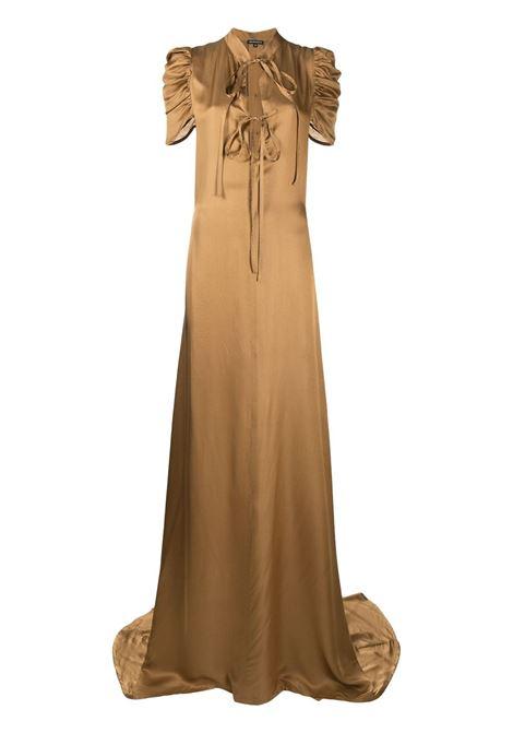 Drape-sleeve gown ANN DEMEULEMEESTER | Dresses | 20022262122029