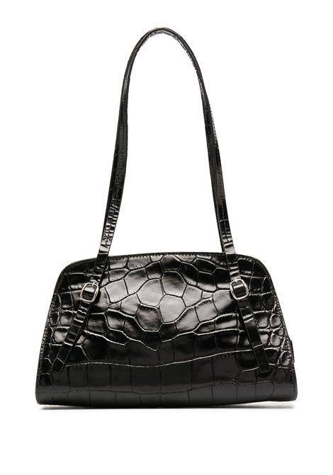 Lora Bag BY FAR | Shoulder bags | 20FWLRSBLDMEDBL