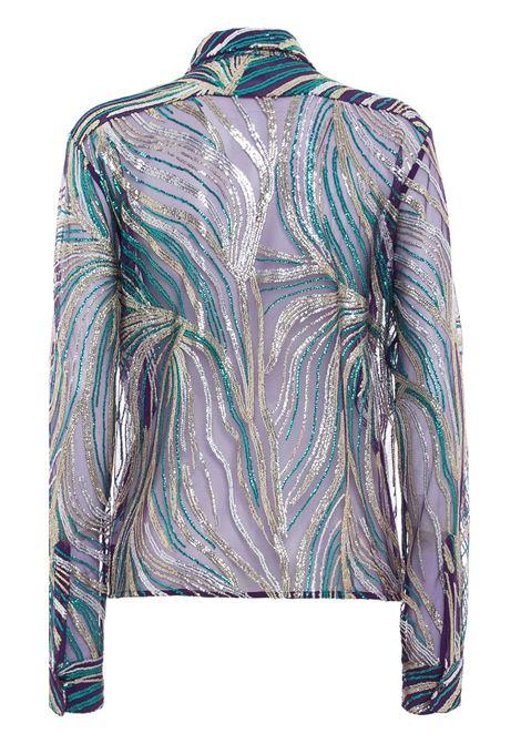 Seguined sheer shirt DRIES VAN NOTEN | 202107121421401