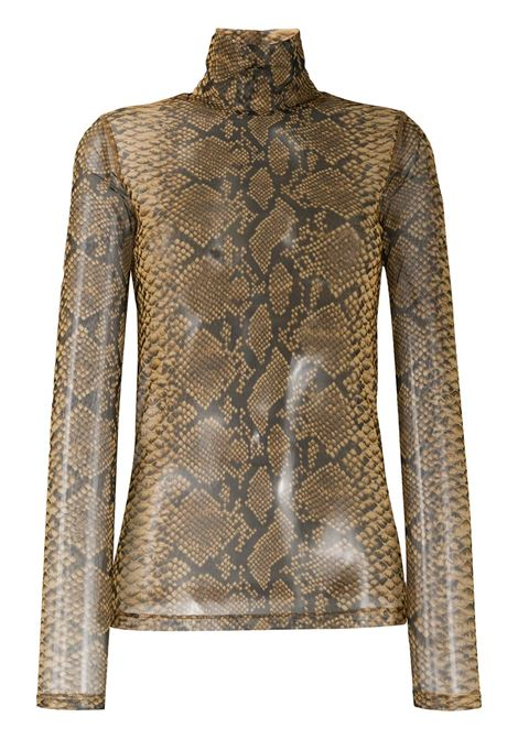 Snake print top DRIES VAN NOTEN | Top | 202111471201102