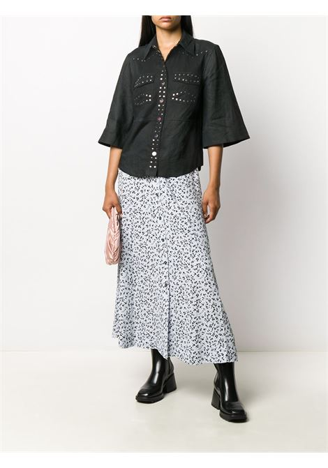 Camicia con decorazione Donna GANNI | F4734252