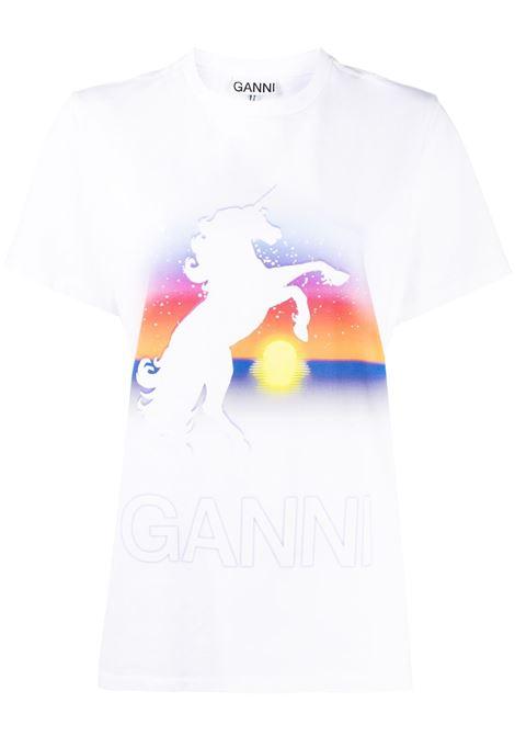 GANNI GANNI | T-shirt | T2663151
