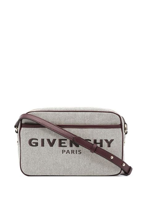 Embroidered logo crossbody bag GIVENCHY | BB50F6B0XM542