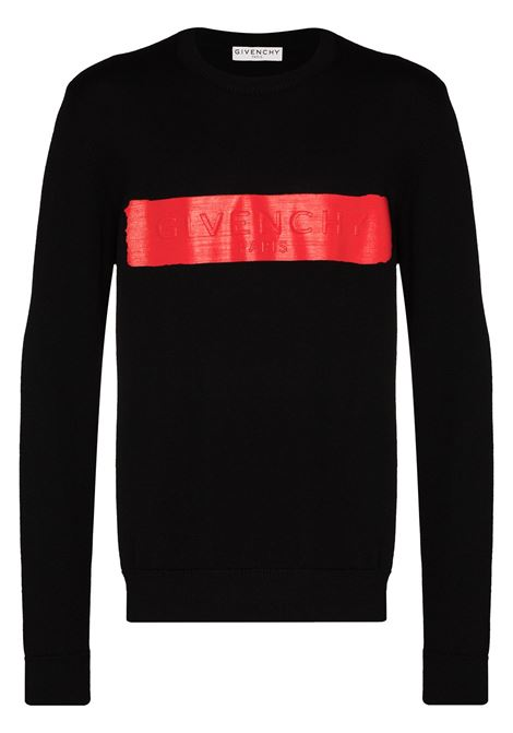 Crew neck jumper GIVENCHY | Sweaters | BM90EG4Y5D009