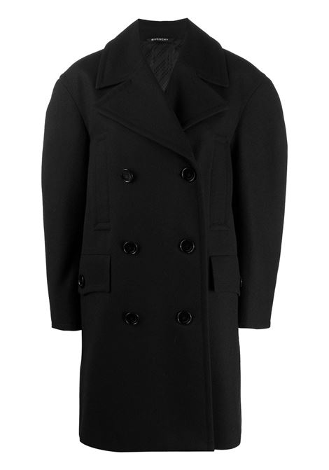 Wool double-breasted coat GIVENCHY | Outerwear | BW009W12XX001