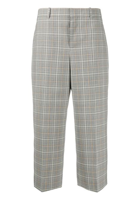 Plaid culottes GIVENCHY | Trousers | BW50M6130Z261