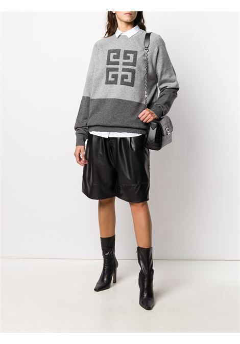 4G two-toned knitted jumper GIVENCHY | BW908N4Z68020