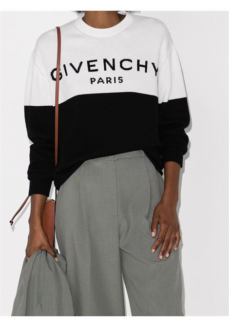 Bicolor sweater GIVENCHY | BW90AE4Z7H004