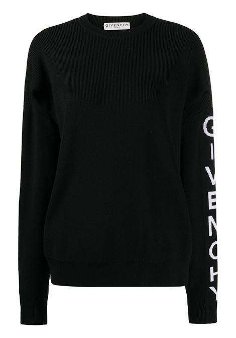 Logo-band cut-out jumper GIVENCHY | Sweaters | BW90AH4Z7K004