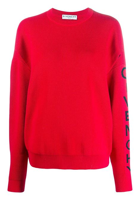 Maglione con logo GIVENCHY | Maglie | BW90AH4Z7K606
