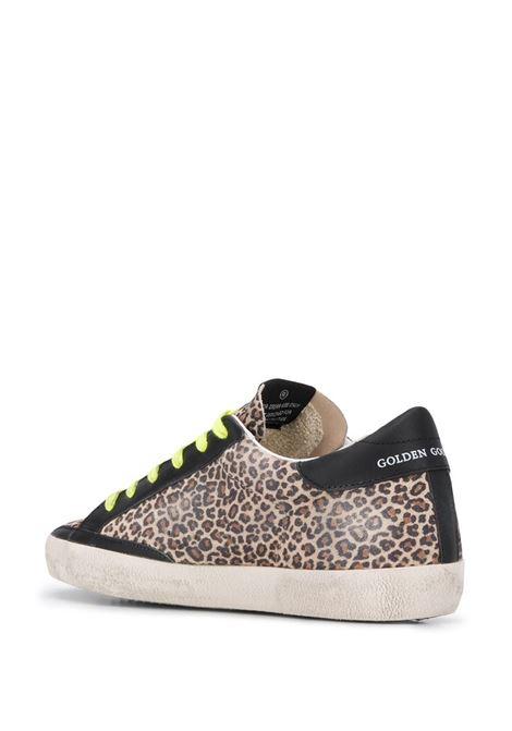 Superstar leopard sneakers GOLDEN GOOSE   GWF00101F00016180189
