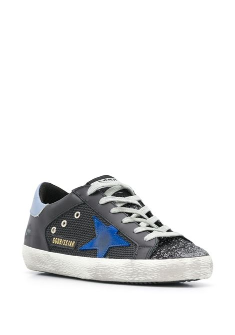 Superstar glittered lace-up trainers GOLDEN GOOSE   GWF00103F00015180178